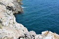 Coast of the Adriatic Sea Stock Images