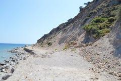 Coast of the Aegean Sea Stock Image