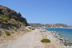 Coast of the Aegean Sea Stock Images