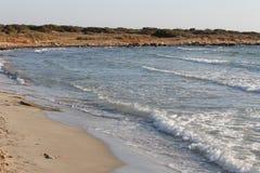 The coast of the Aegean Sea in Turkey Royalty Free Stock Photo
