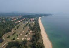 Coast, Aerial Photography, Promontory, Bird's Eye View Stock Image