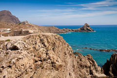 Coast of Aguilas Royalty Free Stock Images