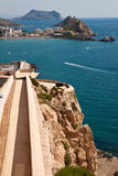Coast of aguilas Stock Photos