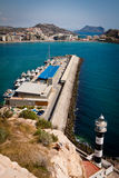 Coast of aguilas Stock Photography