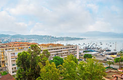 The coast of Ajaccio Royalty Free Stock Photo