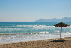 Coast of alcudia Royalty Free Stock Image