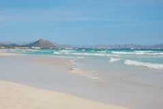 Coast of alcudia Royalty Free Stock Images