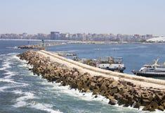 Coast of Alexandria Royalty Free Stock Image
