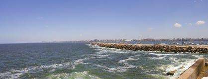 Coast of Alexandria Royalty Free Stock Photography