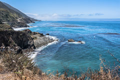 The coast along Big Sur, California Stock Photo