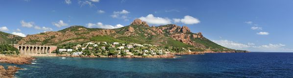 Massif de l'Esterel, Provence, France Royalty Free Stock Photography