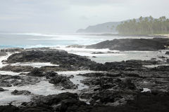 Coast in amoa Stock Images