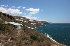 Coast in Andalusia Spain Stock Photo