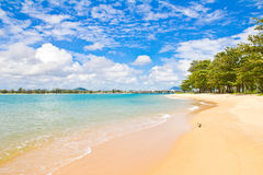 Coast of Andaman Sea in the Indian Ocean Royalty Free Stock Image