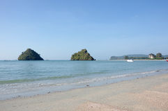 The coast of Andaman sea Royalty Free Stock Image
