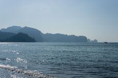 The coast of Andaman sea Stock Photo