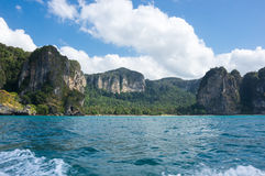 The coast of Andaman sea Royalty Free Stock Photo