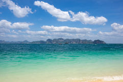 The coast of Andaman sea Royalty Free Stock Photos