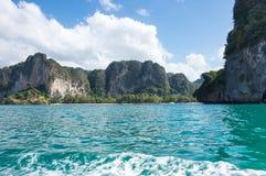 The coast of Andaman sea stock photo