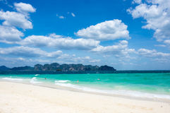 The coast of Andaman sea Royalty Free Stock Photography