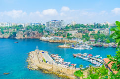 The coast of Antalya Royalty Free Stock Photo