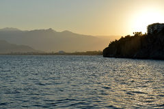 Coast of Antalya, Turkey Royalty Free Stock Photography