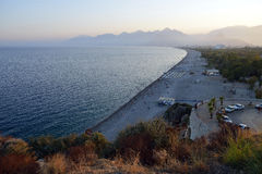 Coast of Antalya, Turkey Stock Images