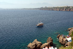 Coast of Antalya, Turkey Royalty Free Stock Image