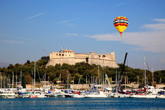 Coast of Antibes France Stock Photo