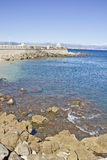 Coast in Antibes, France Royalty Free Stock Photography
