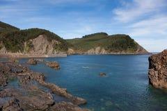 Coast of Armintza Royalty Free Stock Photo
