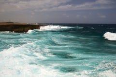 Coast of Aruba Royalty Free Stock Photography
