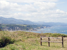 Coast of Asturias Stock Images