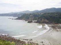 Coast of Asturias, Spain Stock Photo