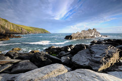 Coast of Atlantic Stock Image