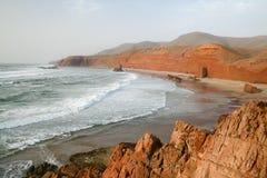 Coast of the Atlantic Ocean Stock Photo