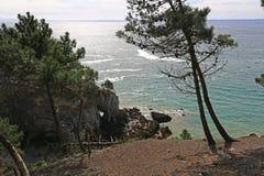 Coast of the Atlantic Ocean Stock Photography