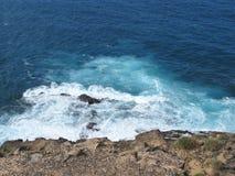 The coast of the Atlantic ocean of Fuerteventura Stock Image