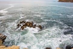The coast of Atlantic ocean Royalty Free Stock Photo