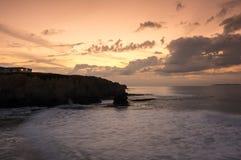 The coast of Atlantic ocean Stock Photography