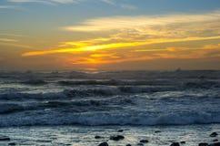 The coast of Atlantic ocean Royalty Free Stock Image