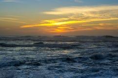The coast of Atlantic ocean Royalty Free Stock Photography