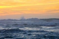The coast of Atlantic ocean Stock Images