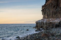 The coast of Atlantic ocean Stock Photos