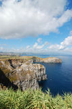 Coast of the Azores. View over the coast of the Azores, Portugal Stock Photo