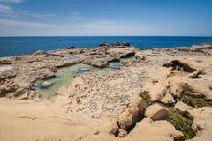 Coast Azure Window. Royalty Free Stock Photography