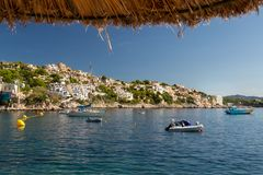 Coast of the balearic Island of Mallorca. This ist a Picture of the Coast of Mallorca from the Balearic islands in the mediterrean Sea in Europe. Millions of Royalty Free Stock Image