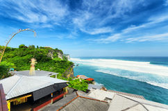 Coast of Bali Island, Indonesia Stock Images