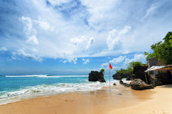 Coast of Bali Island, Indonesia Royalty Free Stock Images