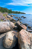 Coast of the Baltic Sea. Stock Photo